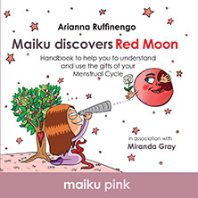 Maiku Discovers Red Moon by Arianna Ruffinengo