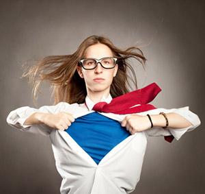 Cyclic Super-Woman at work!
