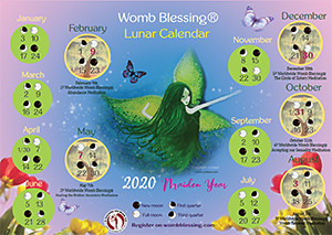 Free Womb Blessing Calendar from Juilaro