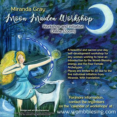 Moon Maiden workshop