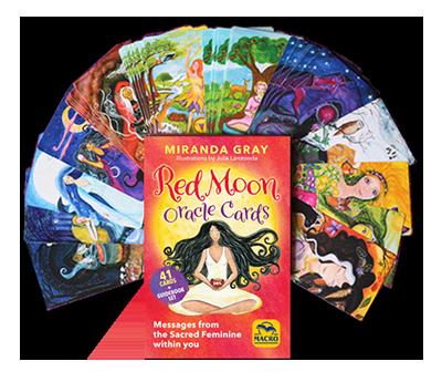 Red Moon Oracle deck