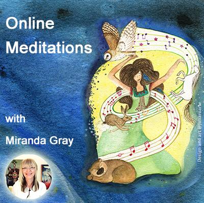 Online meditations with Miranda